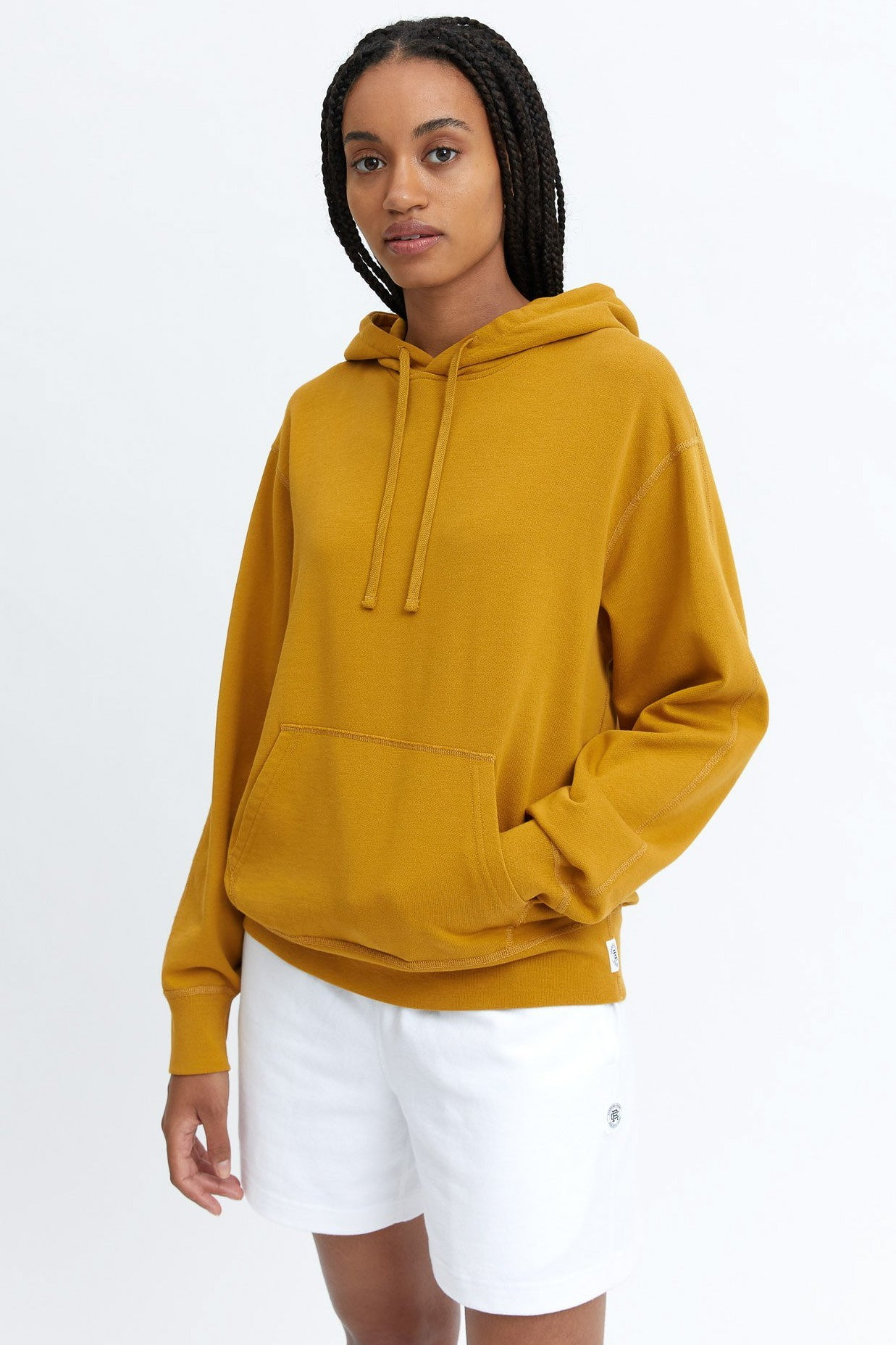 REIGNING CHAMP WOMENS LIGHTWEIGHT TERRY RELAXED HOODIE
