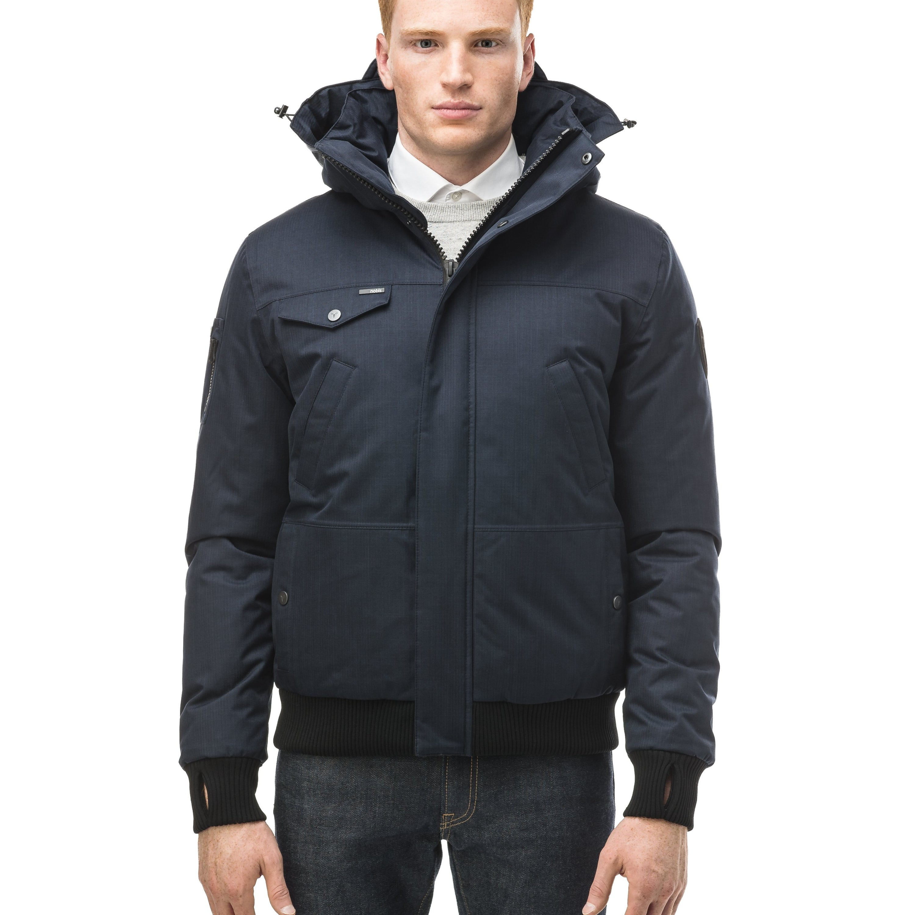 Nobis Stanford Men's Bomber Jacket