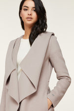 Soia & Kyo Samia Double-Face Wool Coat in Quartz