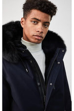 Mackage Moritz Men's Fur Lined Down Parka