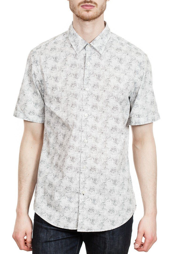 BOSS Luka F Short Sleeve Sport Shirt in White