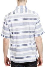 BOSS Lukka 2F Short Sleeve Sport Shirt in White