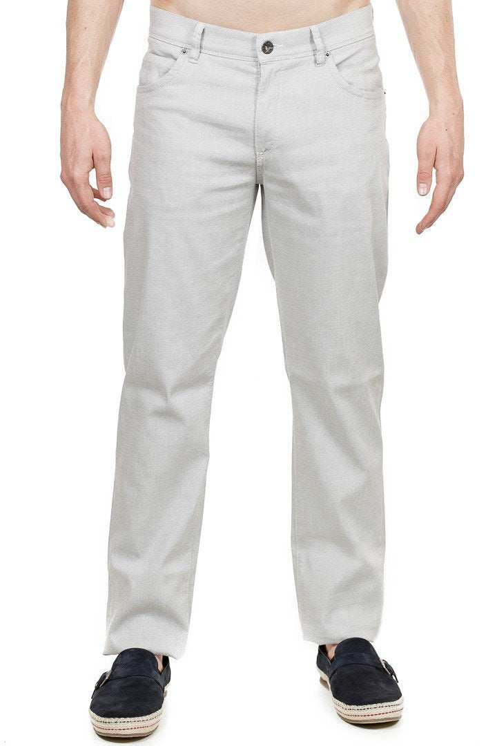 Brax - Cadiz Five Pocket Pants - Light Grey