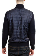 Bugatti Mens Knit Jacket in Navy