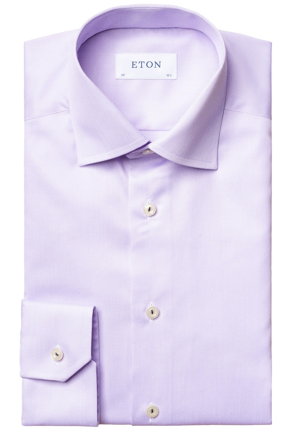 Eton Purple Royal Twill Contemporary Fit Shirt
