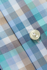 Eton Spring Check Button-Under Shirt