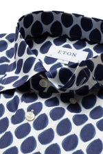 Eton Watercolour Dots Contemporary Fit Shirt ?id=14329311199319