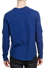 Good Man Brand Soft Slub Henley in Navy ?id=14329201098839