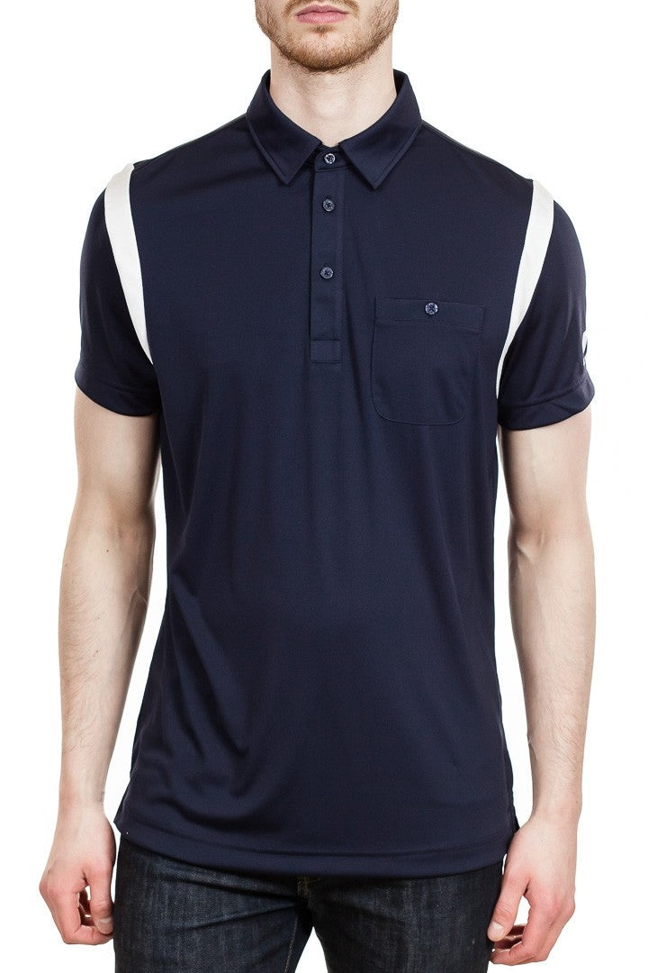 J. Lindeberg Dolph TX Jersey Polo in Navy