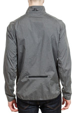 J. Lindeberg Yoko Trusty Wind Jacket in Dark Grey Melange