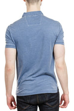 John Varvatos Peace Polo in Hazy Blue