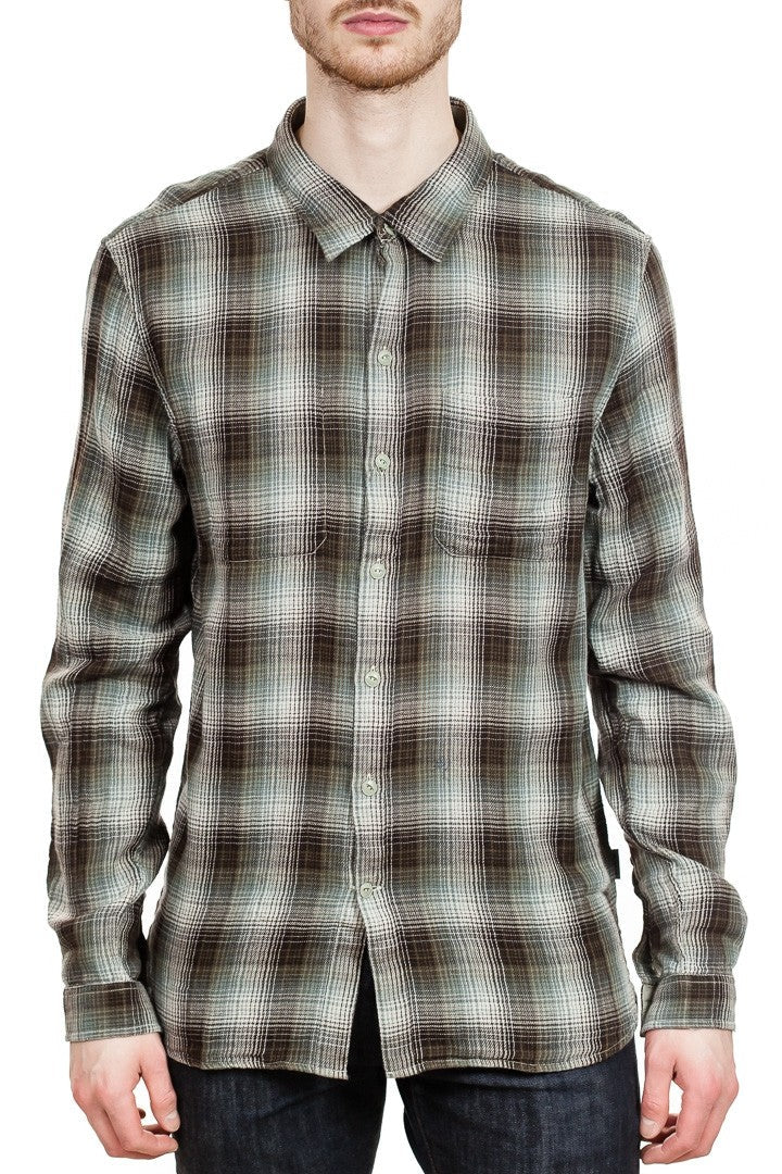 John Varvatos Reversible Shirt in Chestnut
