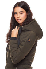 Moose Knuckles Ladies Kedgwick Jacket in Olive
