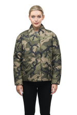 Nobis Adele Ladies Double Breasted Jacket in Camo ?id=14329258246231