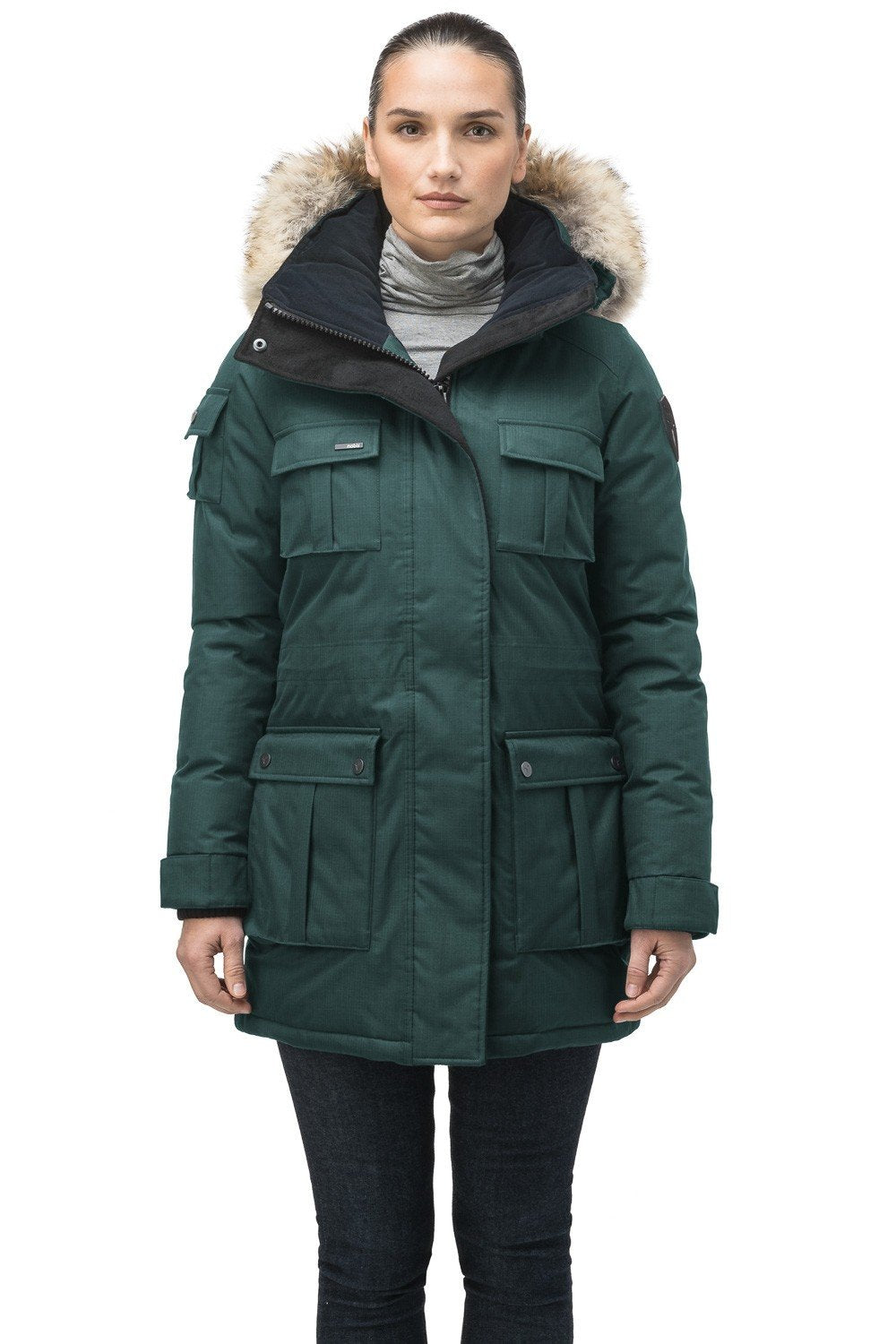 Nobis Cindy Ladies Parka in Forest