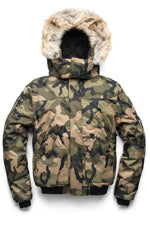 Nobis Dylan Mens Bomber Jacket in Camo