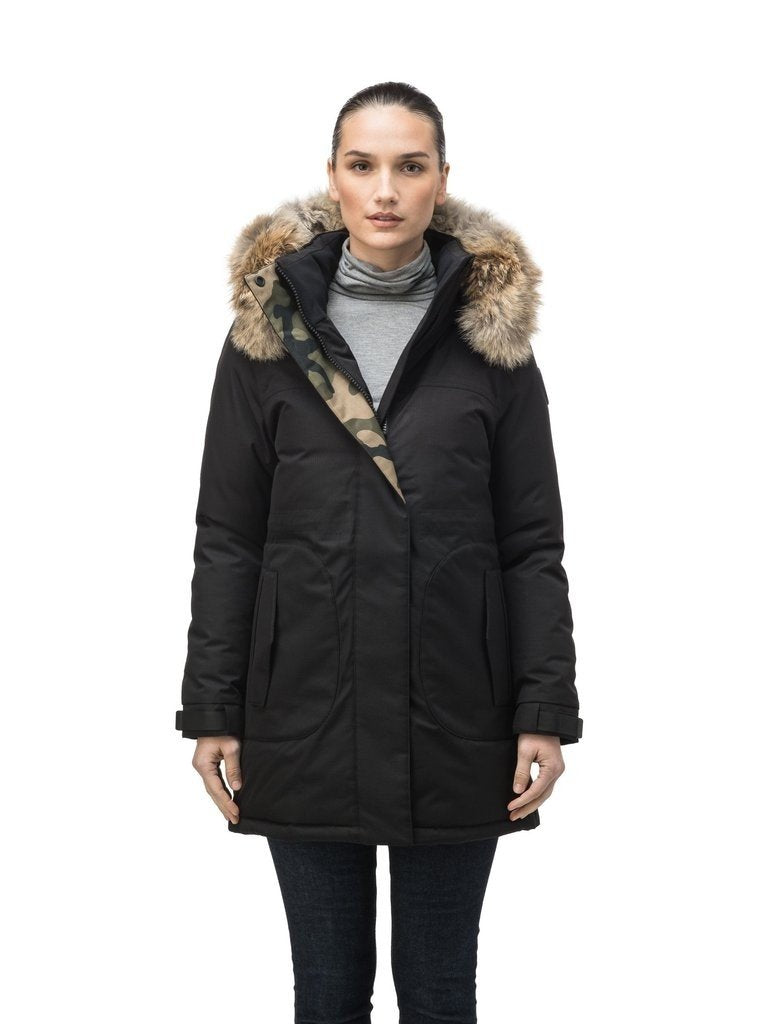 Nobis Maya Ladies Parka in Black