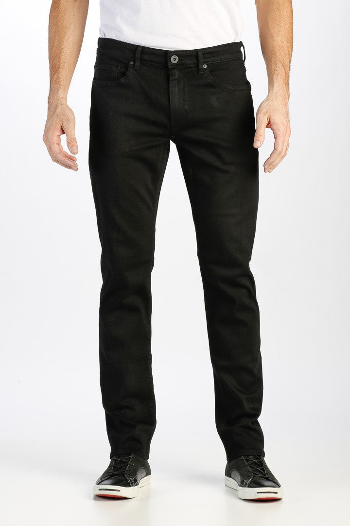 PAIGE Lennox Skinny Fit Jeans in Black Shadow