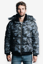 Woodpecker Men Bumnester 3/4 Jacket in Camo