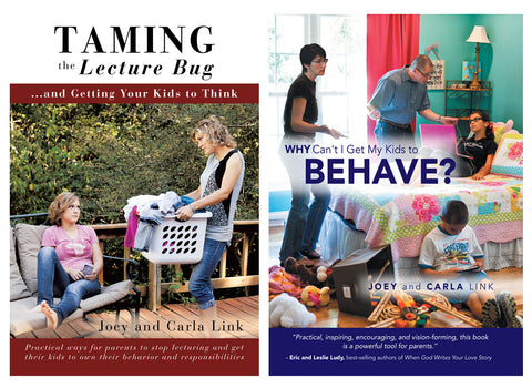 Why Can't I Get My Kids to Behave? and Taming the Lecture Bug (Book Bundle)