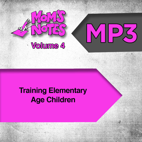 Training Elementary School Age Children MP3