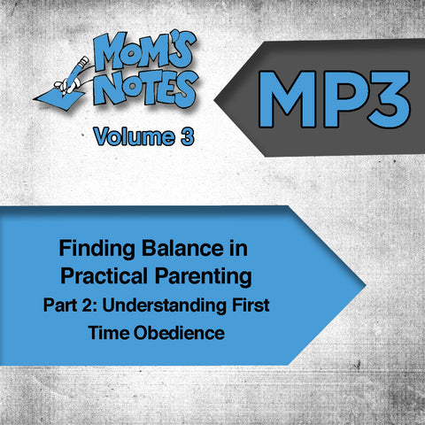 Understanding First-Time Obedience MP3