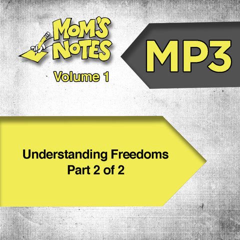 Understanding Freedoms Part 2 MP3