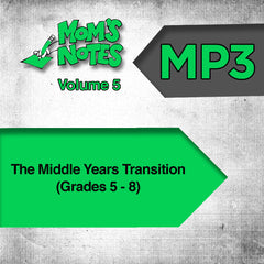 The Middle Years Transition MP3