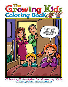 The Growing Kids Coloring Book