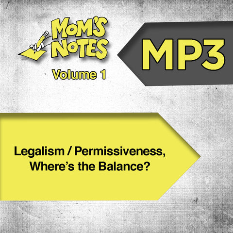 Legalism/Permissiveness, Where's the Balance MP3