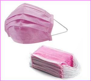Pink Face Masks
