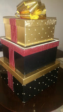 Load image into Gallery viewer, Money Cardbox Centerpiece - Gold Bling