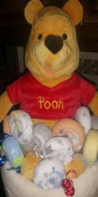 Load image into Gallery viewer, Diaper Cake - Winnie-the-Pooh in Honey Pot