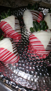 Strawberries - Chocolate Covered/Dipped (Tri-Color)