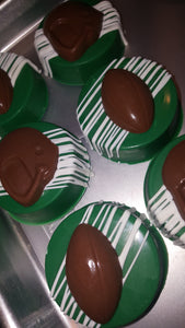 Oreo Cookies - Chocolate Covered/Dipped (Football)
