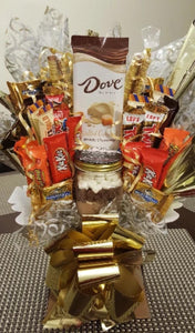 Candy Bouquet - Chocolate Variety Candy Mix