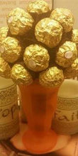 Load image into Gallery viewer, Candy Bouquet - Ferrero Rocher Chocolates