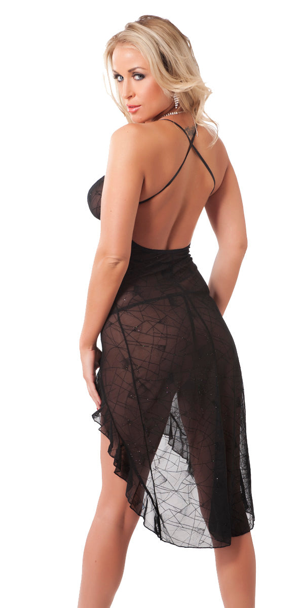 Hot Summer Night Dress and G-string set