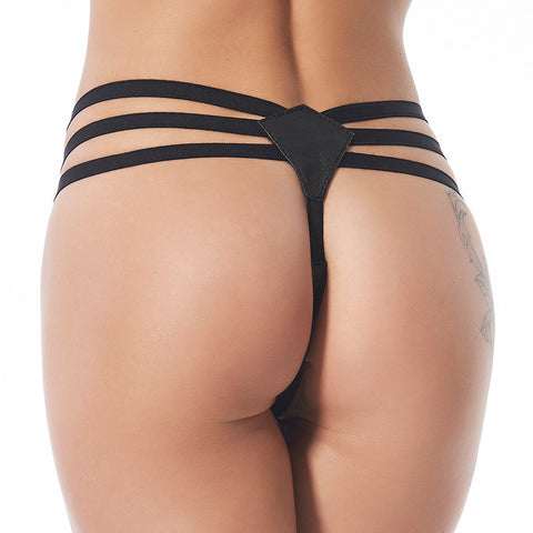Leather G-String
