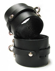 Leather Collar, wrist & ankle cuffs set