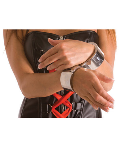 Rapture Stainless Steel Right Angle Wrist Cuffs