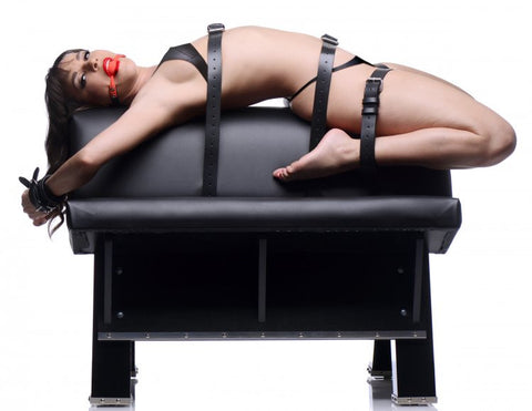 Ultimate Dungeon Essentials Furniture Kit with Bondage Horse