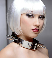 Heavy Duty Stainless Steel Spiked Collar