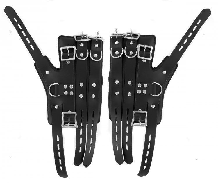 Heavy Duty Suspension Cuff Kit with Steel Bar