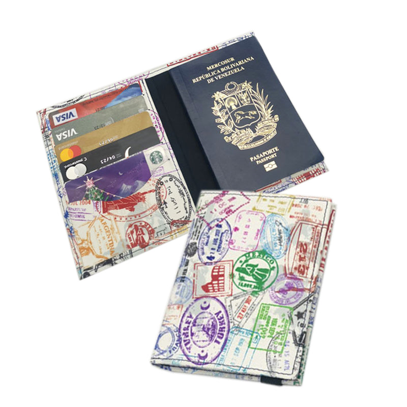 Porta pasaporte - World Trip