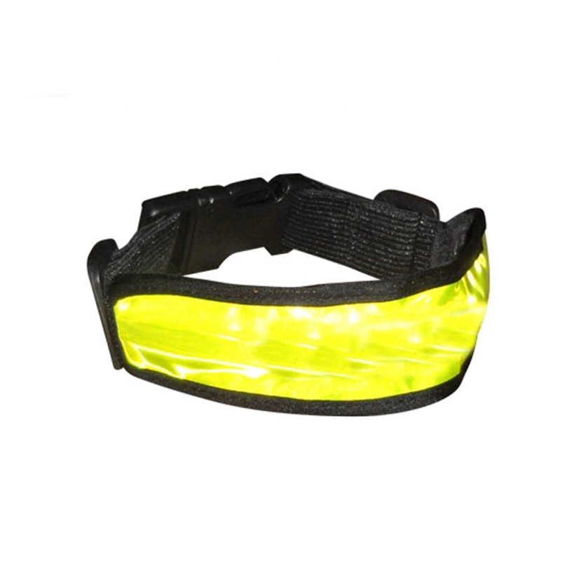 Brazalete Reflectante con Luz LED