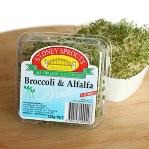 Broccoli & Alfalfa sprouts