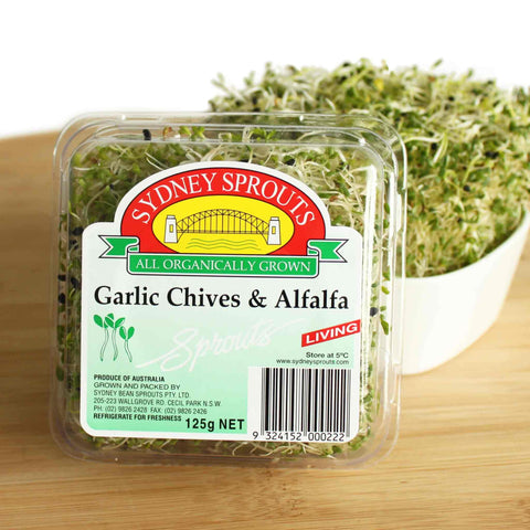 Alfalfa & Garlic Chives Sprouts
