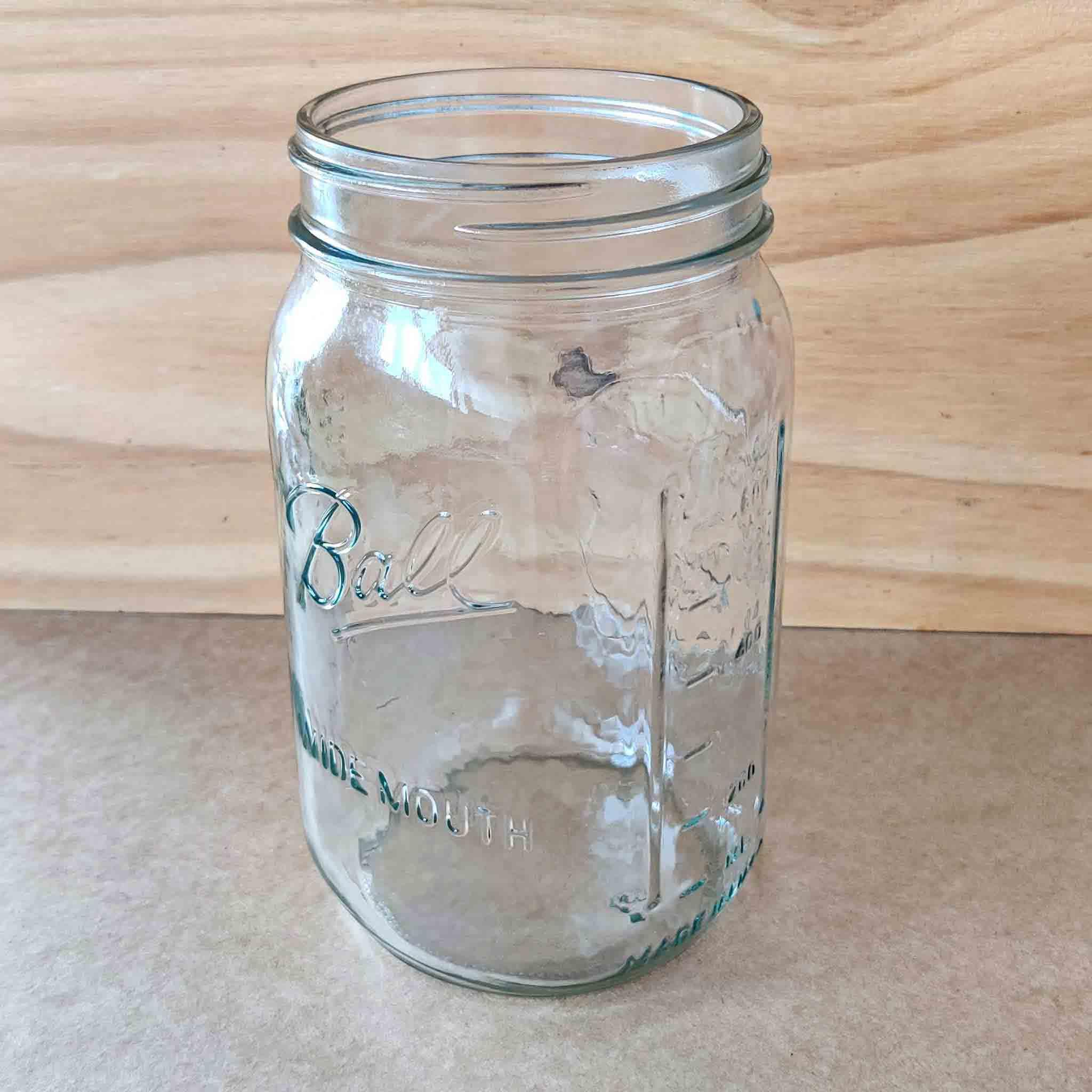 Ball Wide Mouth Mason Glass Jar