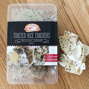 Toasted Rice Crackers - Original Sesame